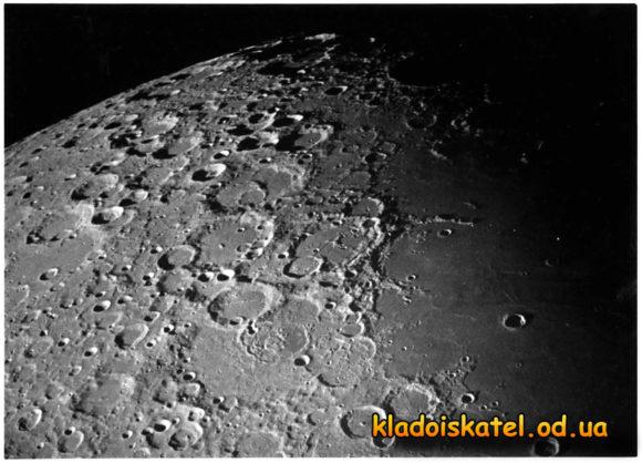 Кратеры луны