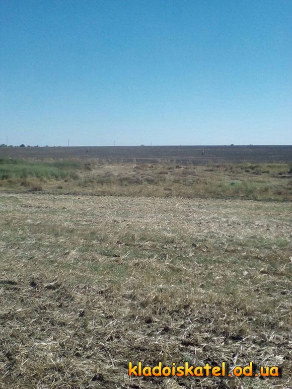 ищем клад на поле