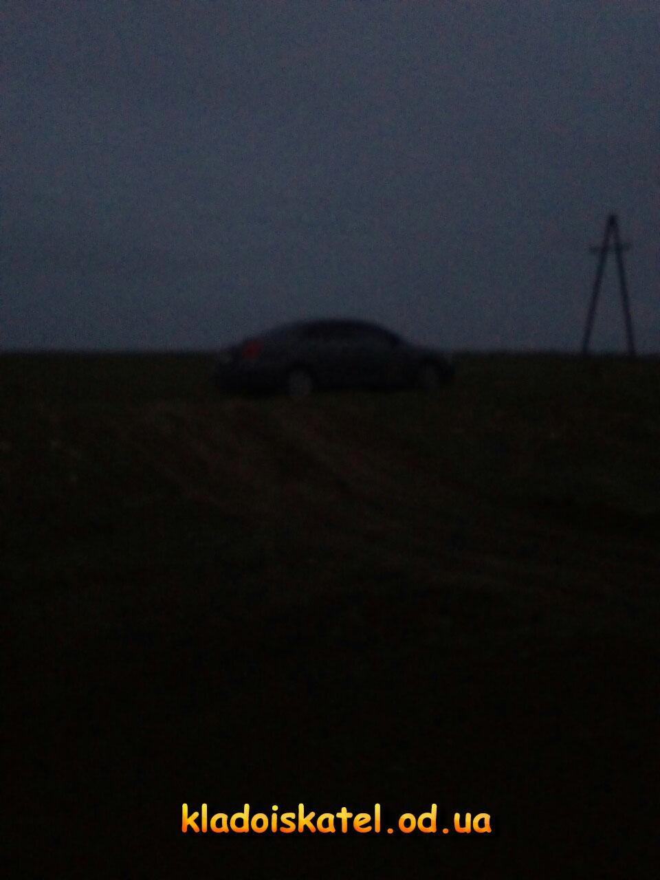 машина ночью