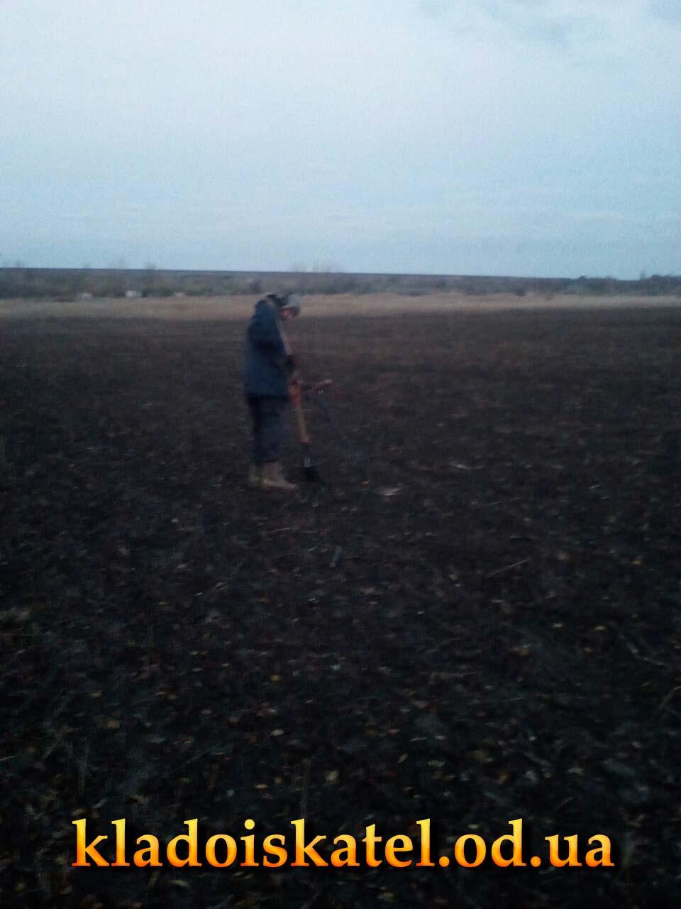 Барин на поле