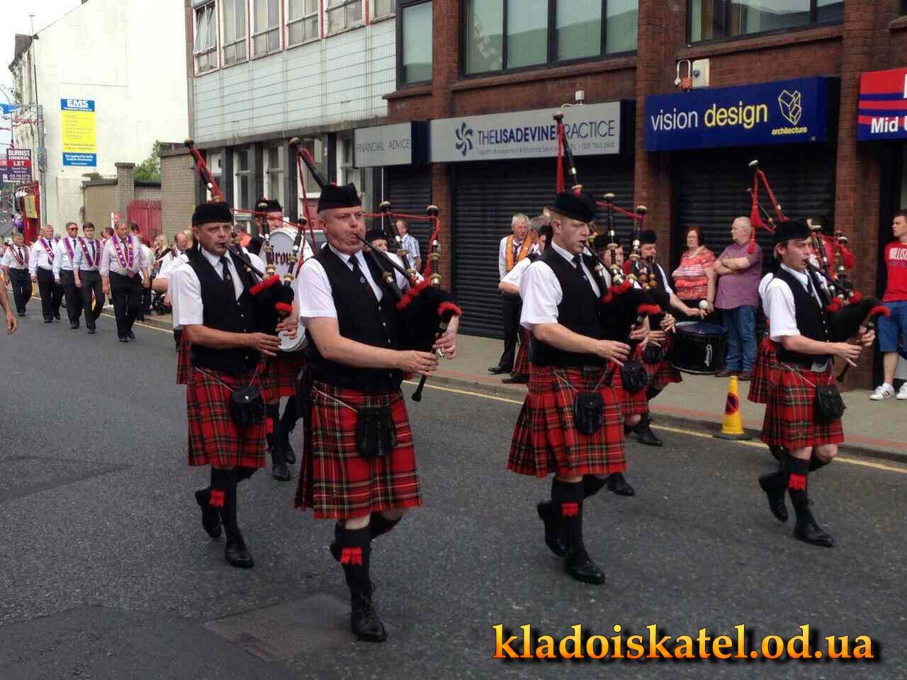 ирландцы в юбках