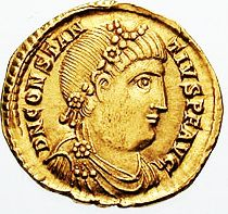 Solidus_Constantius_III